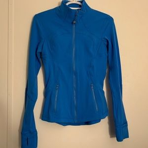 Lululemon ELECTRIC BLUE define zip track jacket